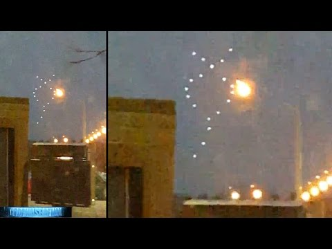 MESMERIZING! Alien UFO Craft Communicate Cryptic Message To Canada!