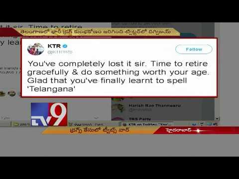 KTR slams Digvijay Singh over sensational tweets on Drugs Case - TV9