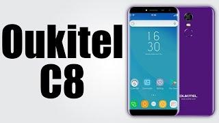 OUKITEL C8 - 5.5 Inch / Android 7.0 / 2GB RAM + 16GB ROM / 13MP CAM / 3000mAh