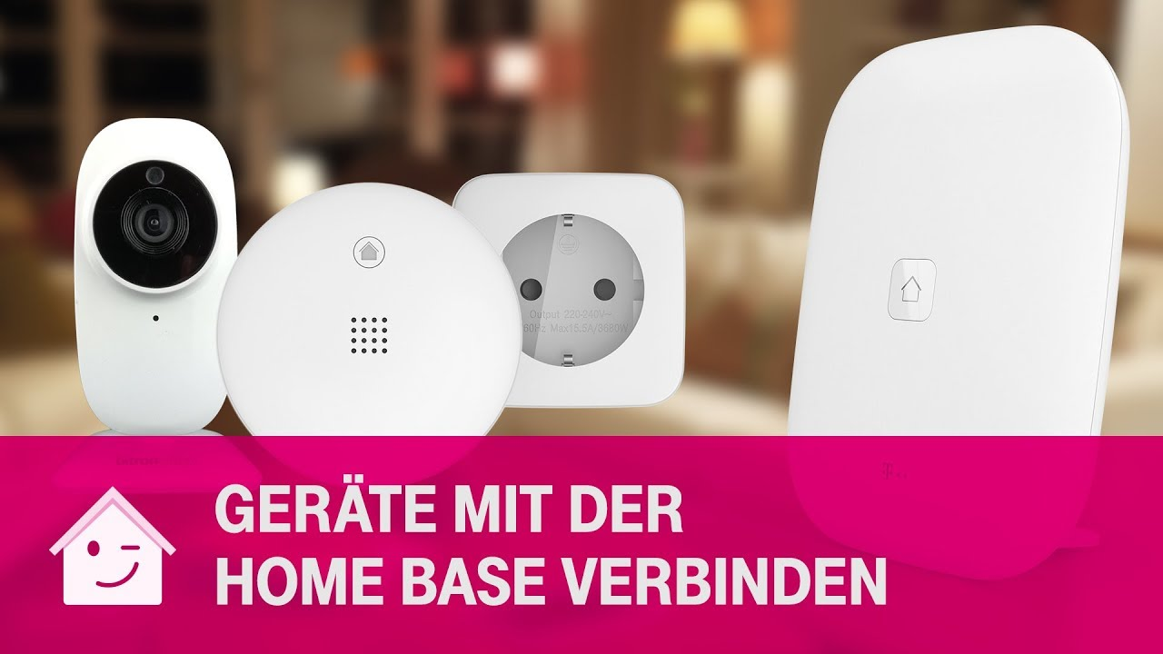 Gerate In Die Home Base Einbinden Telekom Magenta Smarthome Youtube