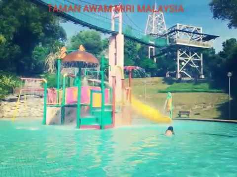 Wisata Malaysia ( Taman awam miri sarawak malaysia )