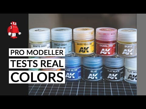 AK Interactive Real Colors Review with Lincoln Wright