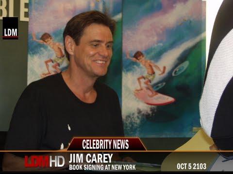 Ldm News Jim Carrey Book Signing Of How Roland Rolls