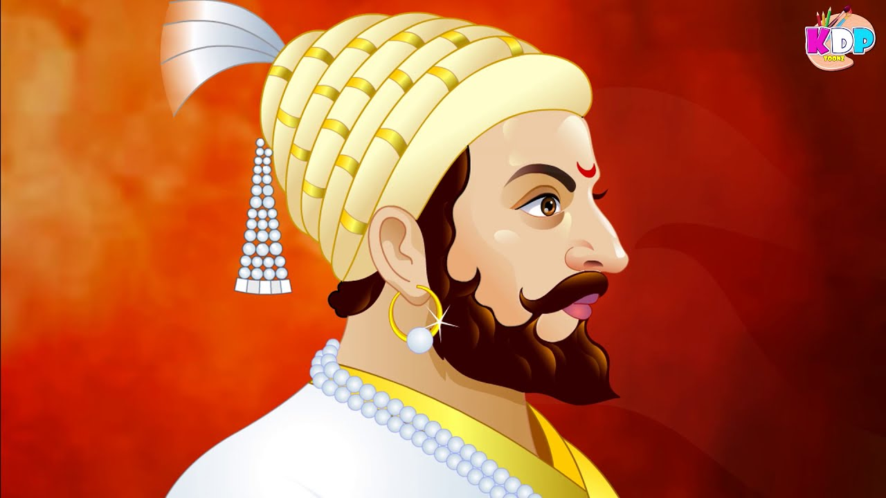 draw chhatrapati shivaji maharaj drawing coloring art kids youtube