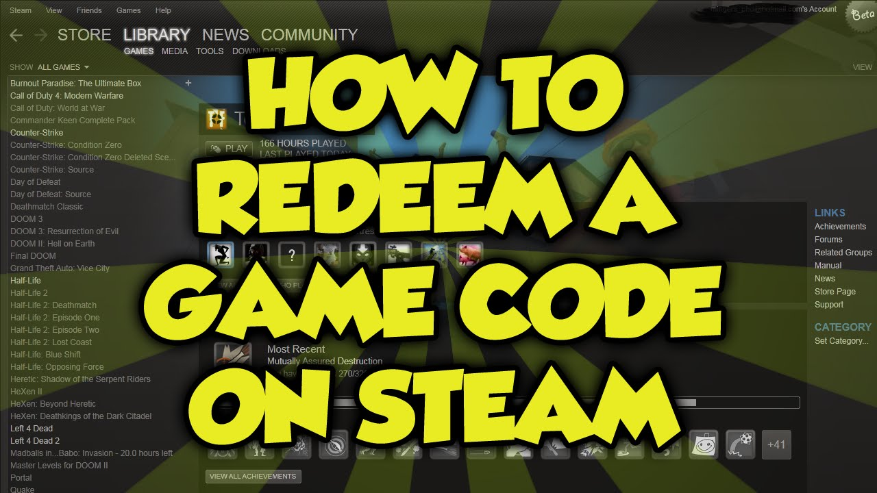 steam how to use keys