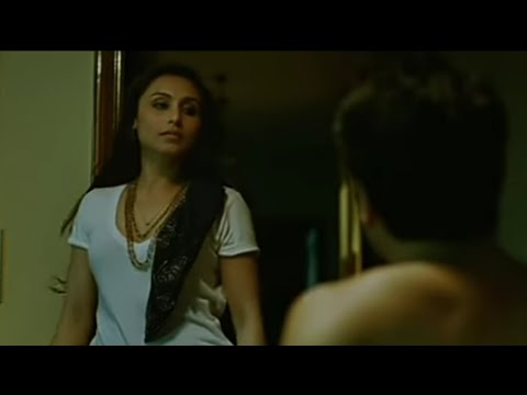 Rani mukherjee hot romantic kissing scene