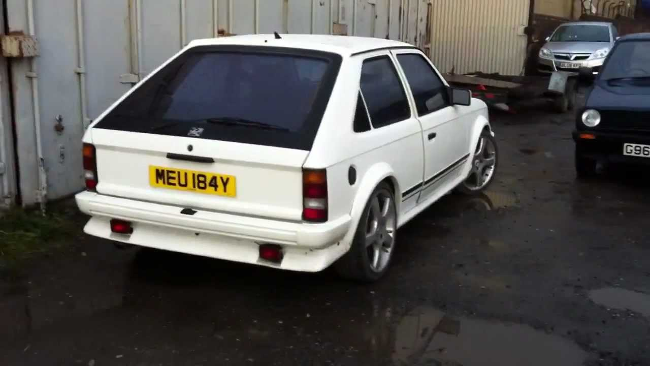 1982 mk1 vauxhall astra kadett d v6 gte youtube. Black Bedroom Furniture Sets. Home Design Ideas