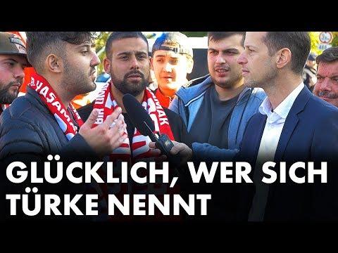 Roger Beckamp auf Pro-Erdogan-Demo in Köln