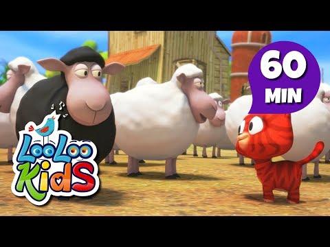 Baa, Baa, Black Sheep - THE BEST Songs for Children | LooLoo Kids