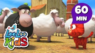 Baa, Baa, Black Sheep - THE BEST Songs for Children | LooLoo Kids