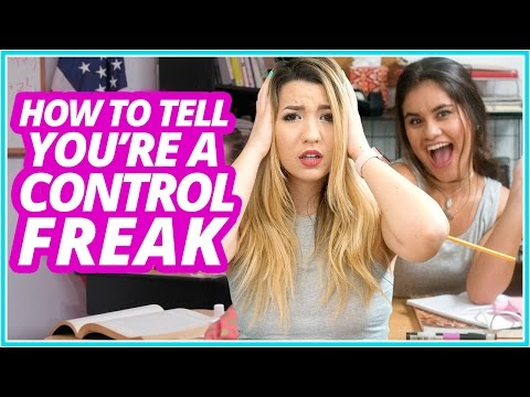 HOW TO TELL if youre a Control Freak w/ Mia Stammer