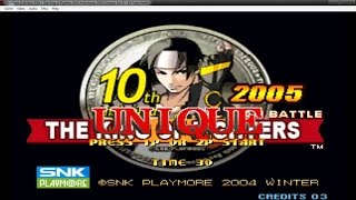 Como baixar e instalar o The King of Fighters 10th Anniversary 2005 Unique Para Android  ATUALIZADO