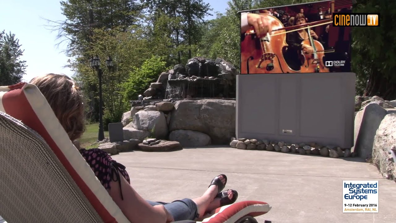 ISE 2016 : Stealth Acoustics Patio Theater