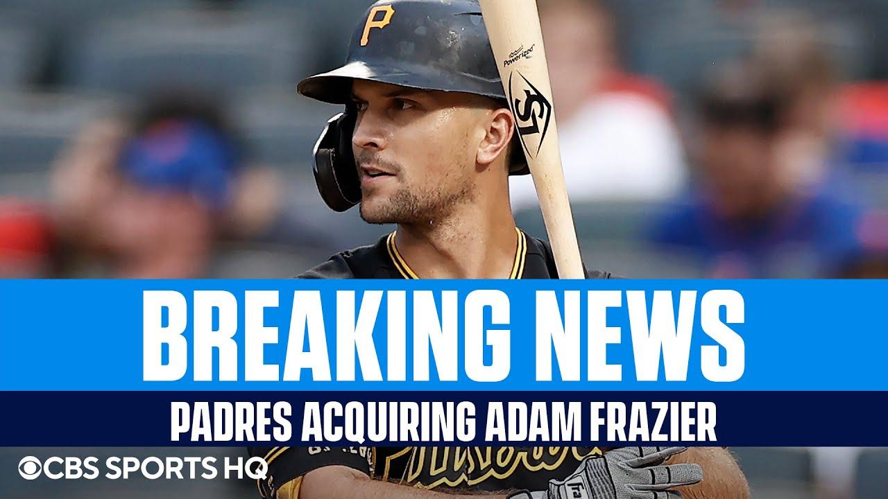 Report: Padres acquiring Adam Frazier from Pirates