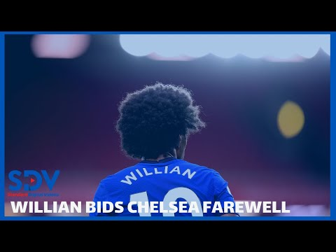 Willian confirms Chelsea exit after 7 years