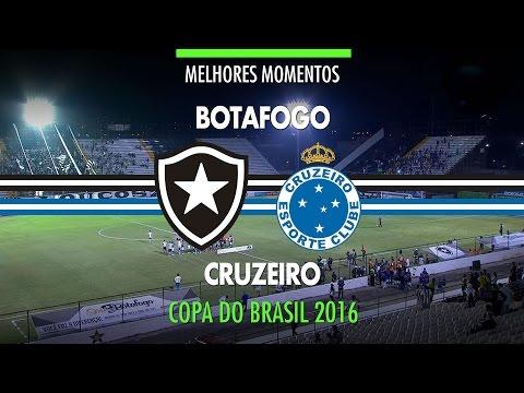 Melhores Momentos - Botafogo 2 x 5 Cruzeiro - Copa do Brasil - 01/09/2016