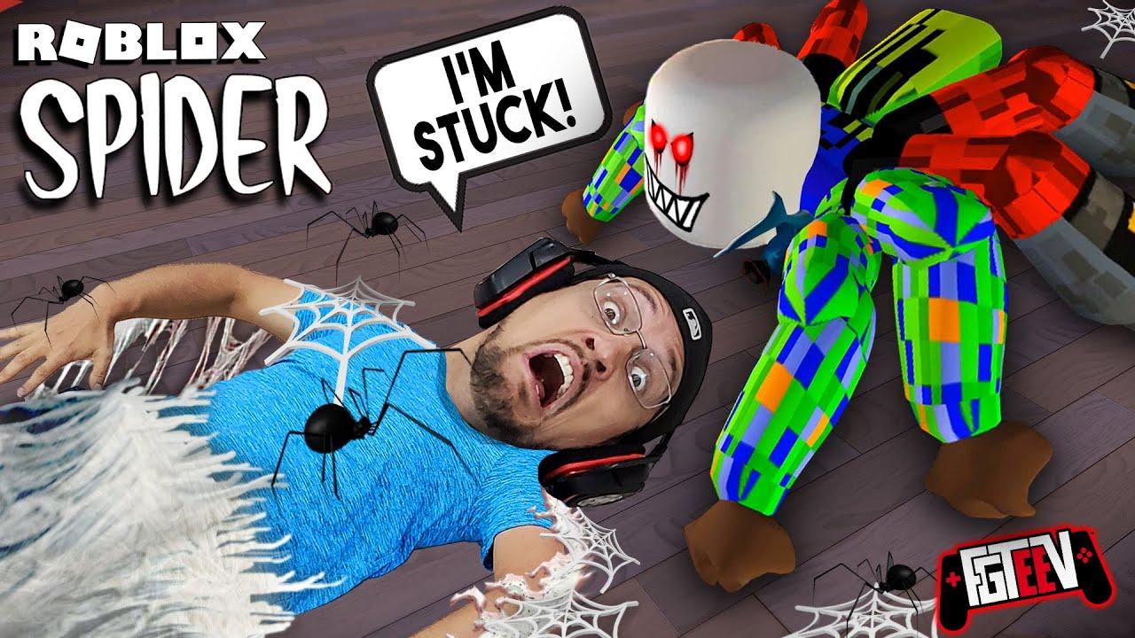 Download ROBLOX SPIDER - Escape the 8 Legged Freak (FGTeeV vs. FGTeeV Chapter 1)