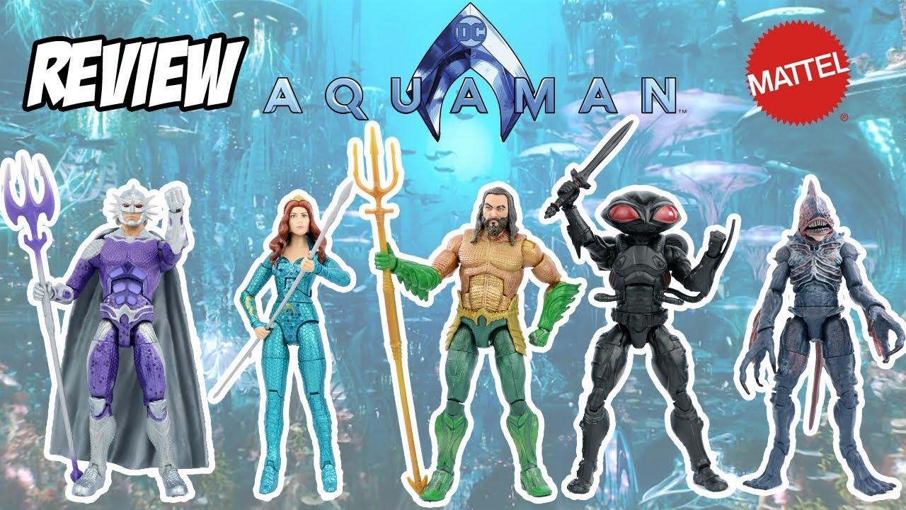 Review dos bonecos do filme Aquaman 2018 DC Multiverse - coleção ... 0520c0b8f08