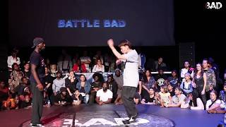 Jeff vs Dokyun - Finał 1vs1 na Battle Bad 2018