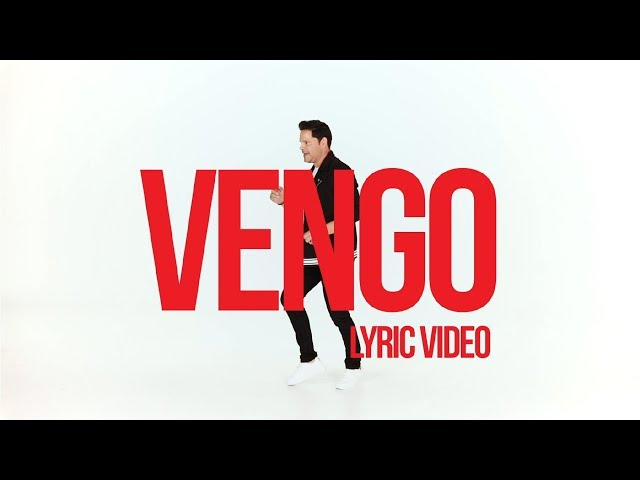 REY RUIZ VENGO LYRIC VIDEO (VERSION SALSA)