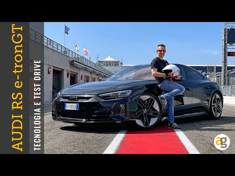 AUDI RS e-tron GT la TECNOLOGIA e TEST DRIVE - andreagaleazzi.com