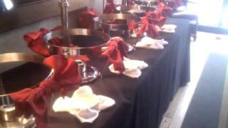 Valentine's Buffet Set-up