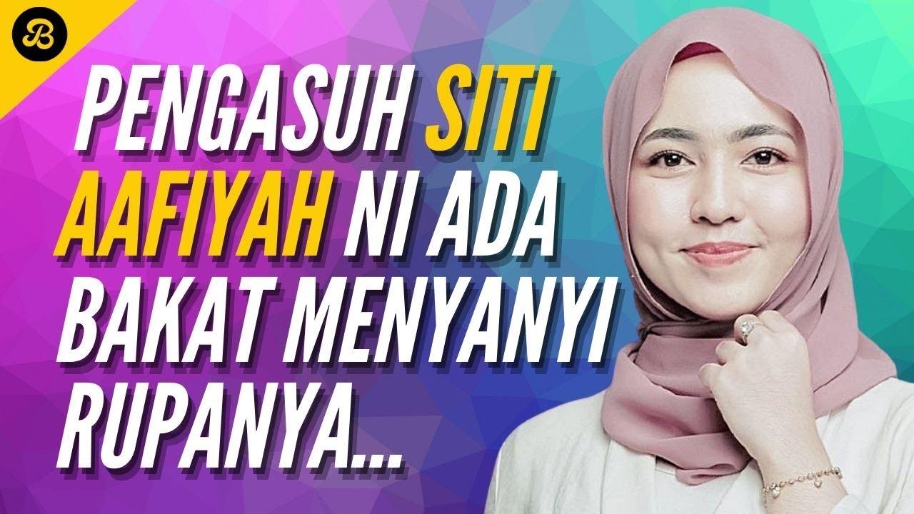Pengasuh Siti Aafiyah Tunjuk Bakat Boleh Menyanyi