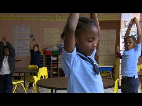Baltimore students get meditation, not detention