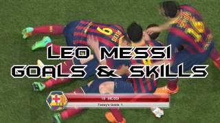 PES 2014 - Leo Messi Skills & Goals [HD]