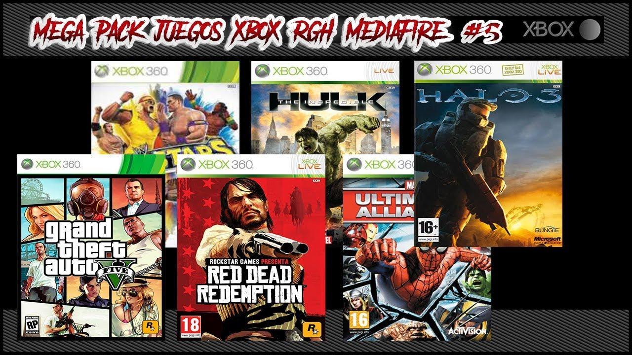 Juegos Xbox 360 Rgh Espanol Mediafire Pack 5 Youtube
