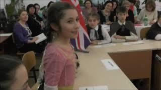 ''Золотой ключик полиглота'' урок Хакуновой Ж.М.