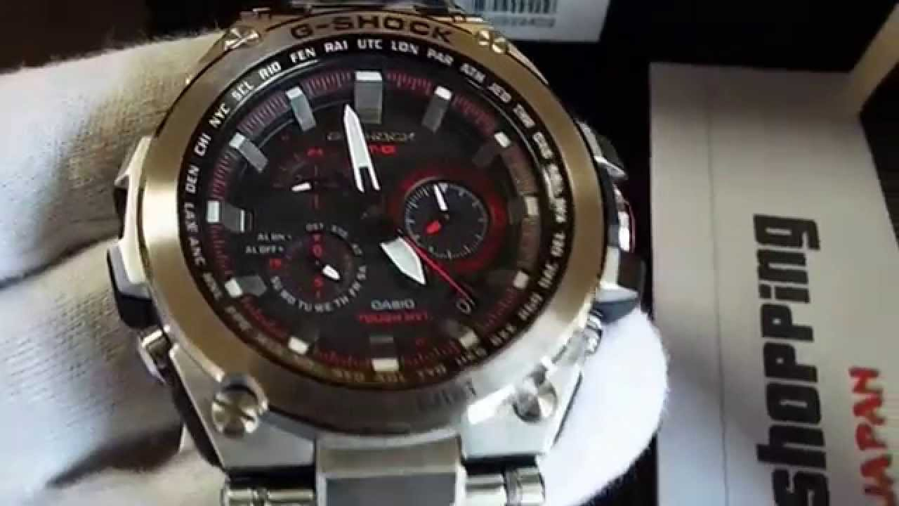 Casio G-Shock MTG-S1000D-1A4JF Multiband 6 - YouTube