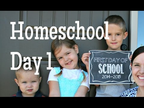First day of Homeschool!