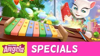 NEW SONG - Merry Christmas from Talking Angela (Music Tutorial)