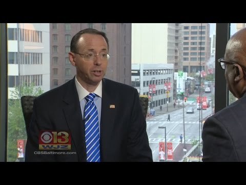 Maryland's Rod Rosenstein Named U.S. Deputy Attorney General