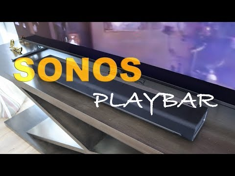 2019 Sonos Playbar Quick Listen, Hands On Unboxing, Setup & Review