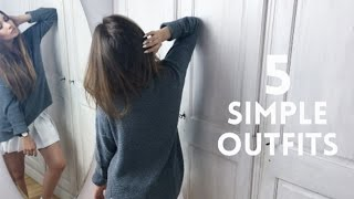 5 Simple Outfits - New School Year / Veronica Marie