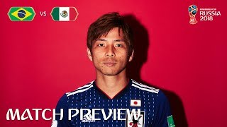 Takashi INUI (Japan) - Match 54 Preview - 2018 FIFA World Cup™