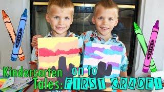 Twins Last Day of Kindergarten Our Final Kindergarten Tales