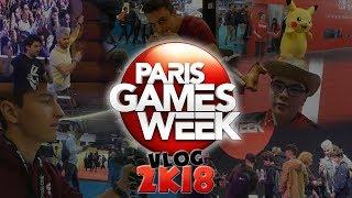 VLOG À LA PARIS GAMES WEEK 2018 ! (rencontre youtubers...)