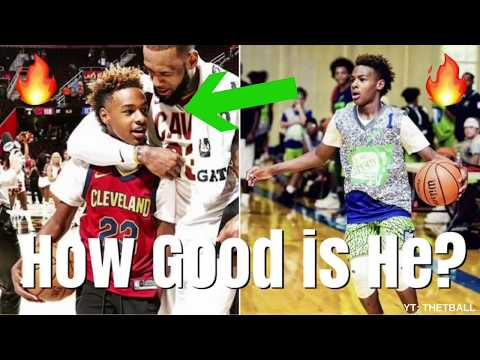 How GOOD Is LeBron James Jr. ACTUALLY? | Future #1 NBA Draft Pick? | Cleveland Cavaliers