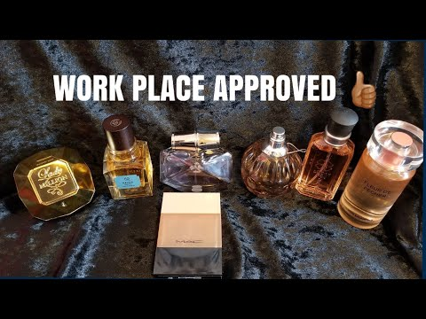 7 Appropriate Fragrances For The Work Place 👩🏽💻|Perfume Collection