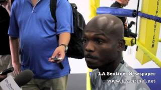 Timothy Bradley Talks Boxing, Floyd Mayweather, Hip Hop, Inspiration, Vegan Diet, Etc...pt 1