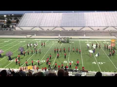 Mineral Wells High School Ram Band Golden Triangle Marching Classic 2015