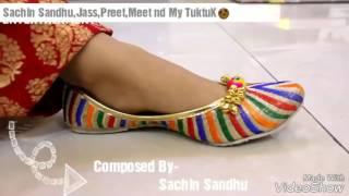 Punjabi Little Girl Dance Paranda/ Song Kaur B / Parmish Verma  New Song