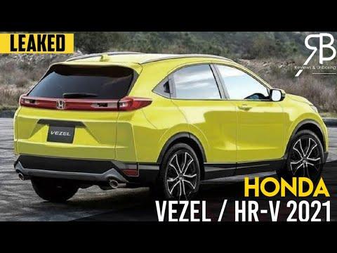 All New Honda Vezel / HR-V 2021 Leaked Online   2nd Gen ...