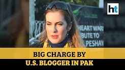 Raped by Pakistan ex-minister, claims US blogger Cynthia Ritchie