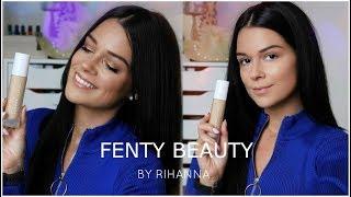 JE TESTE LE FOND DE TEINT DE RIHANNA │FENTY BEAUTY Première Impression