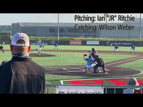 Wilson Weber Catching, 2020 Area Code Games Baseball  8/7/2020