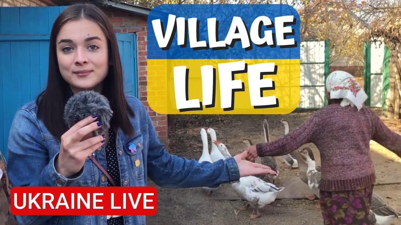 Actual Deep Ukraine Village Life